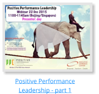 Positive Performance Leadership - part 1
